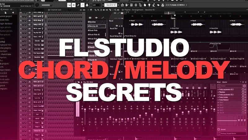 FL STUDIO CHORDS MELODY SECRETS 2018