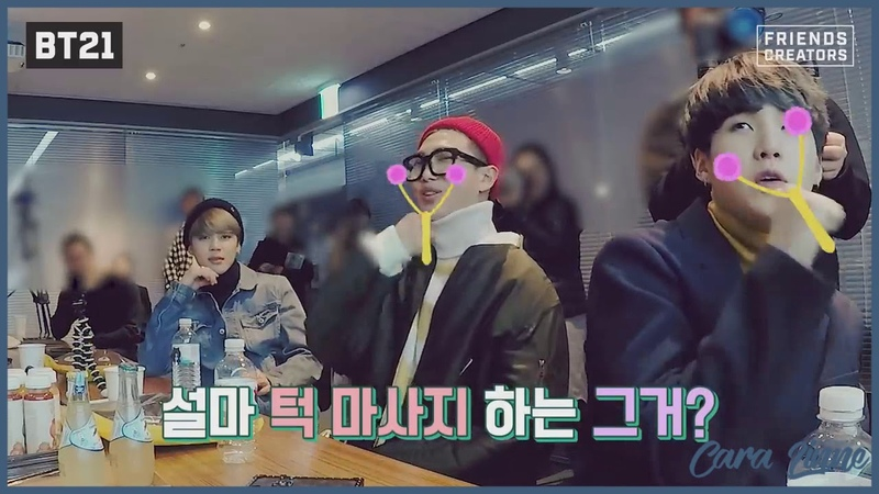 Озвучка by Cara Linne BT21 Making of BT21 EP 09