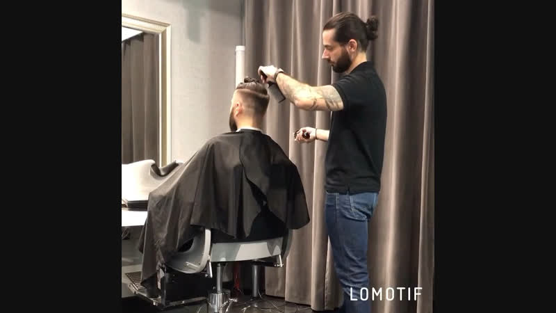 Стрижка дизайн бороды