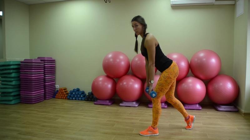 Силовая тренировка для проработки мышц ягодиц