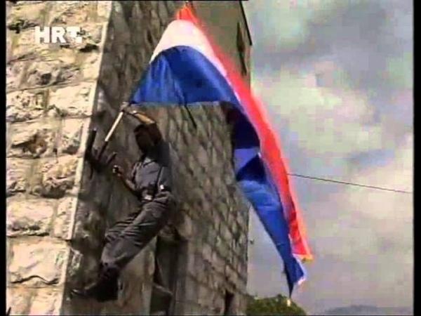 Oluja Hrvatska Vojska oslobodila Vrliku i napreduje prema Drnišu 05 08 1995