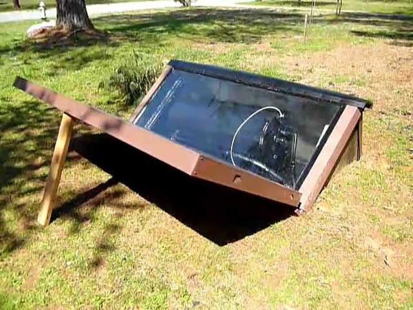 DIY Solar Batch Water Heater Build Part 4 of 4
