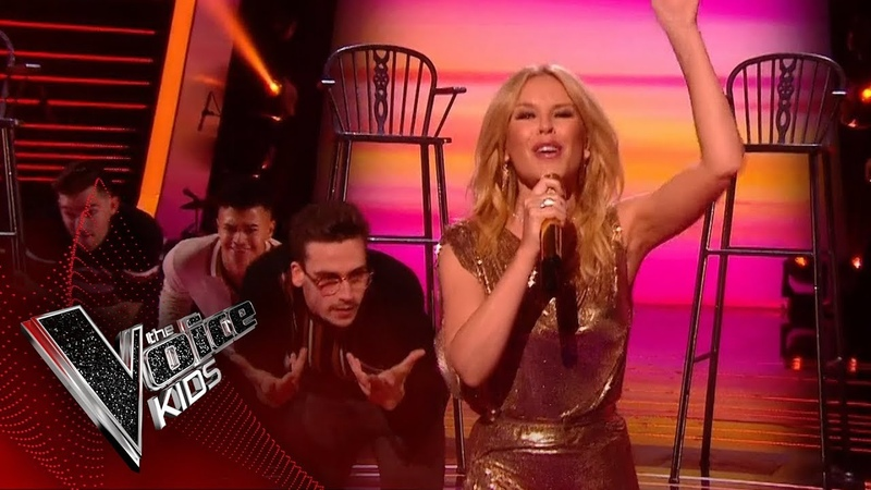 Kylie Minogue Performs 'Golden' The Final | The Voice Kids UK 2018