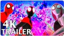 SPIDER MAN INTO THE SPIDER VERSE Trailer 4 2018 4K ULTRA HD