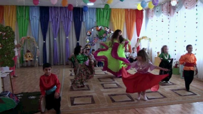 Цыганский танец на Выпускном балу в ДС Дошкольник