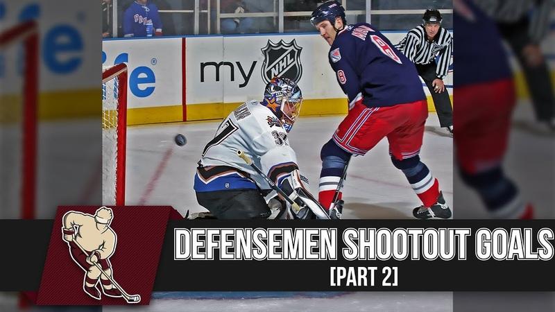 NHL Defensemen Shootout Goals Part 2