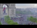 People take to streets of Paris to celebrate Frances World Cup victory
