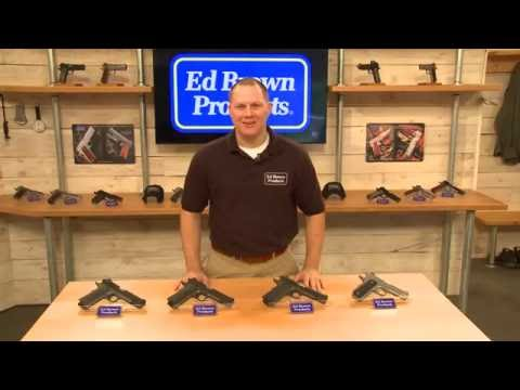 Ed Brown 1911 handgun models overview