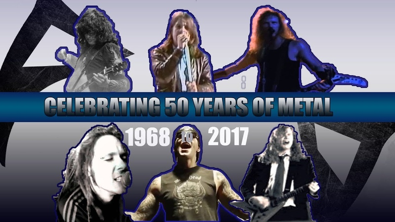 The 1 Biggest METAL Hits Of Each Year [ 1968 - 2017 ]