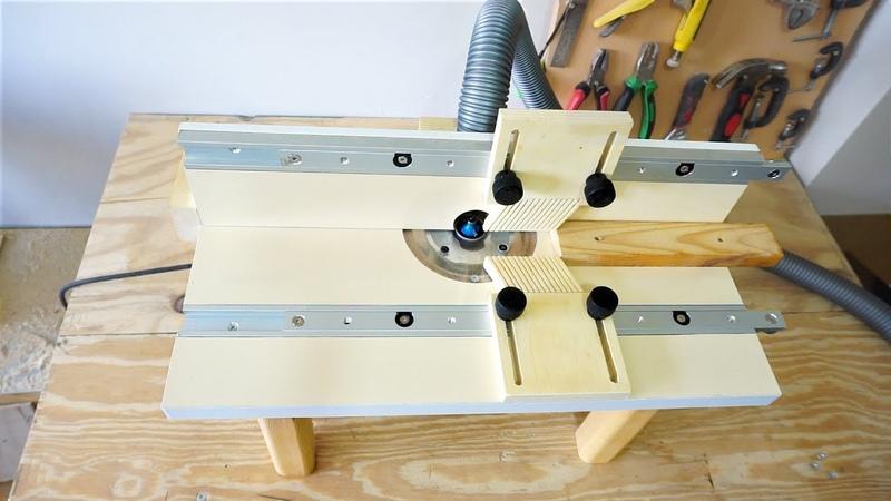 Building a Benchtop Router Table / Masaüstü Freze Tezgahı Yapımı