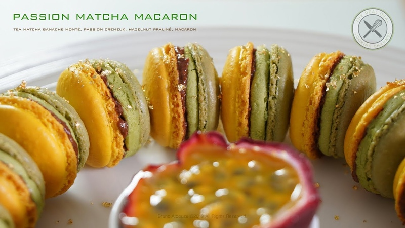 Passion Matcha French Macaron – THE REAL DEAL – Bruno Albouze