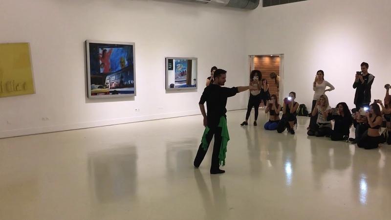 Pablo Acosta en Grecia Fusión Tango Árabe