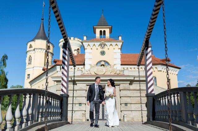 Русско-итальянская свадьба Джанлуки и Елены в замке БИП