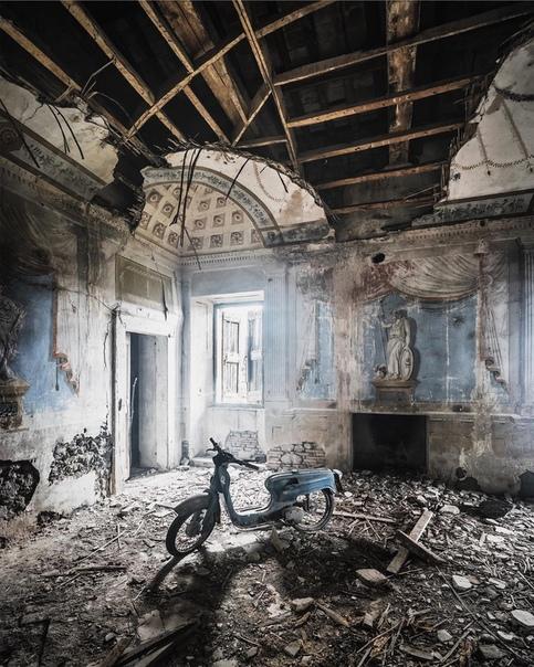 заброшенные места на снимках саймона йонга саймон йонг — талантливый фотограф, который мало рассказывает о себе. при этом его работы известны по всему миру, а выставки и фестивали с его работами