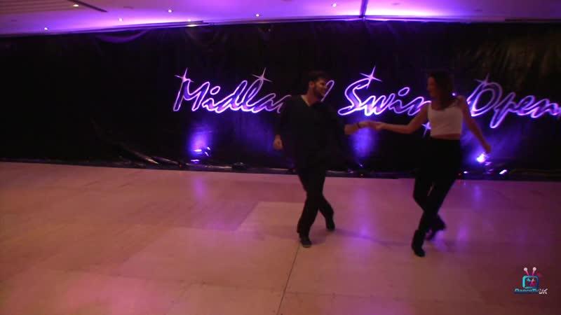 Maxence Martin and Virginie Grondin - Teachers Demo - Midland Swing Open 2018