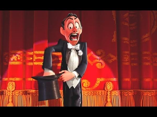 Мультфильм Disney Престо   Короткометражки Студии PIXAR [том 2] - мультфильм о фокуснике