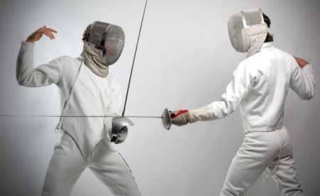 Фехтование считается видом боевого искусства.