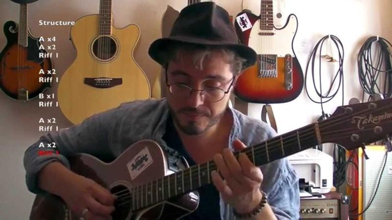 Outside woman blues (Clapton acoustic version) - Tuto guitare TABS