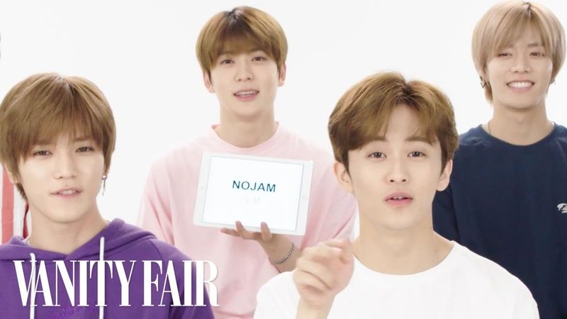NCT 127 Teaches You Korean Slang   Vanity Fair