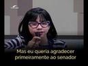 Laissa Guerreira fala de sua doença no Senado e emociona o Brasil inteiro