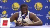 FULL Draymond Green press conference 'None of us are ready for this run to come to an end' ESPN
