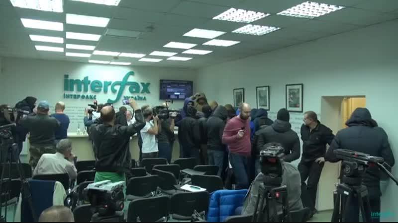 Франкова облили кефиром на пресс-конференции