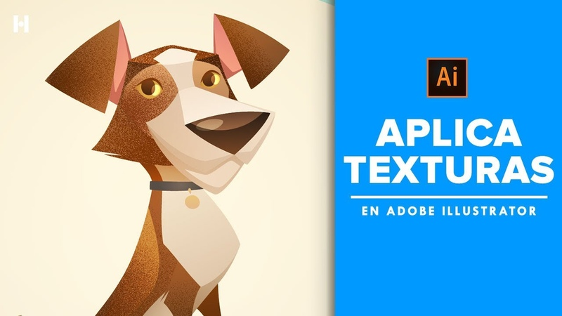 Tutorial Aplica texturas en Adobe Illustrator