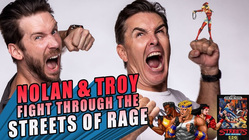 RETRO REPLAY - Nolan and Troy Fight Through the Streets of Rage