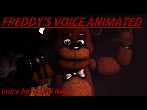 [SFM FNaF] Freddy's Voice Animated (David Near)