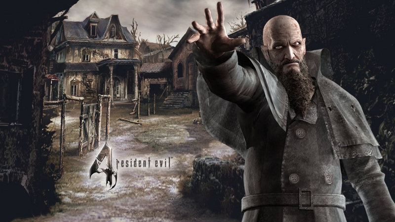 Resident Evil 4 1 (Кривой Санстрайк)