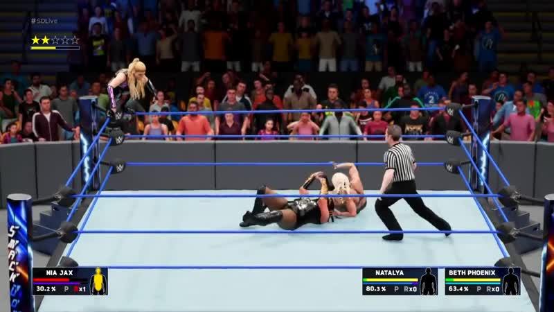 DIVAS OF DOOM VS NIA JAX WWE 2K18 SDLIVE