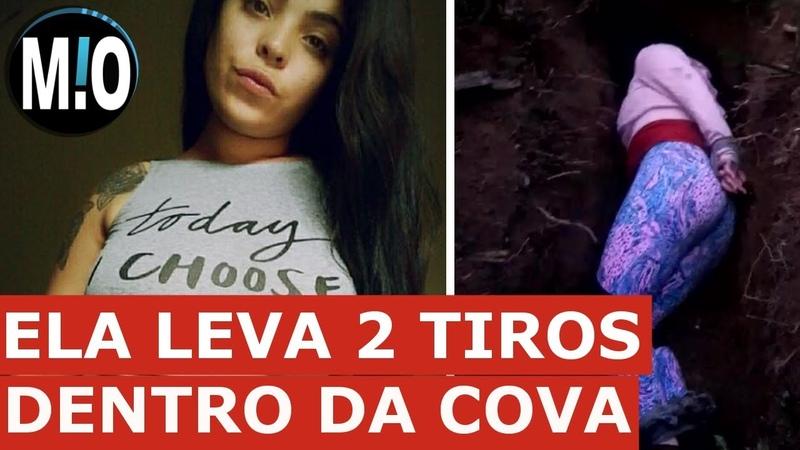 IMAGENS FORTES Menina jovem deita na COVA e leva 2 tiros, jovem executada, morta na cova
