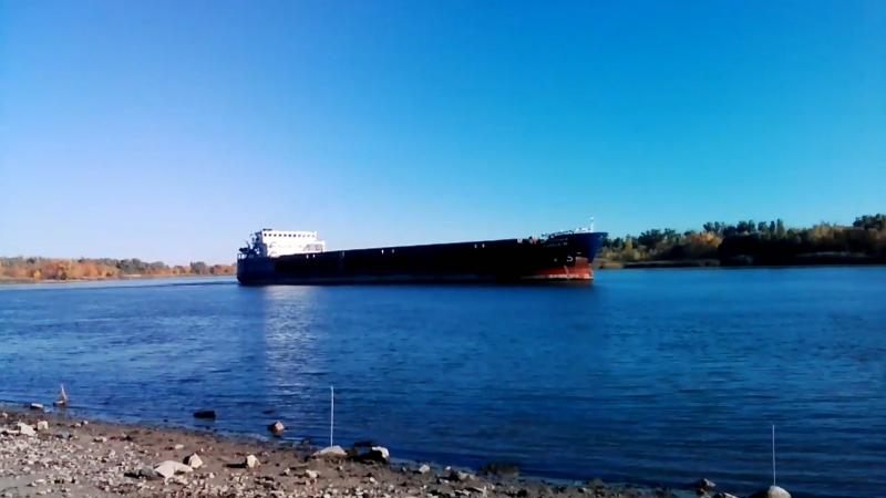 Аксай - Баржи, лодки и рыбалка. 13.10.2018 год
