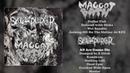 Maggot Bath / SKULLxPIERCER - split FULL ALBUM (2018 - Sludgecore-Grind / Noisegrind-Powerviolence)