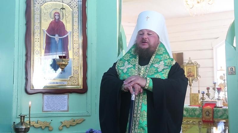 Слово митрополита Ферапонта в день празднования прп. Макарию Писемскому