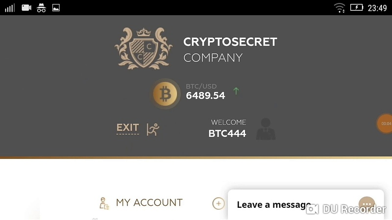 CRYPTOSECRET ( HYIP )investment review