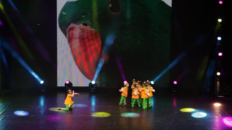 Студия современного танца Акварель Веселые путешественники