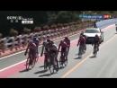 Финиш 1 го этапа велогонки Тур Синтая 2018