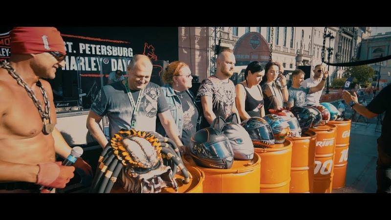 Harley Days 2018 Конкурс мотошлемов. Кержакова! ))