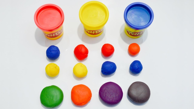 Learn Colors Using Play Doh ► Mix Primary Colors To Produce Secondary Colors by Kids Toys and Crafts