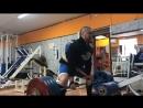 Становая тяга в стиле сумо с плинтов