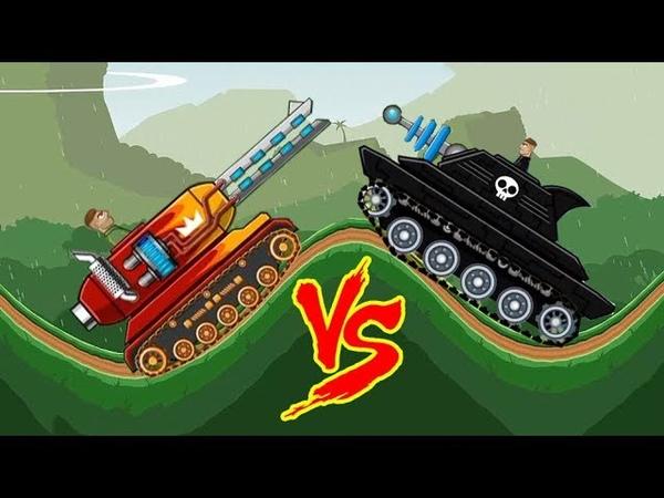 Hills of steel MAMMOTH Tank - Tanks for kids - Games bii