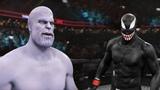 ТАНОС(Thanos) vs ВЕНОМ(Venom) БОЙ в UFC 3