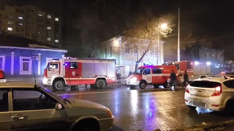 Пожар на улице Самарской