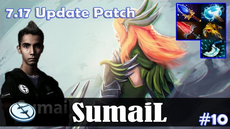 SumaiL - Windranger MID | 7.17 Update Patch | Dota 2 Pro MMR Gameplay 10