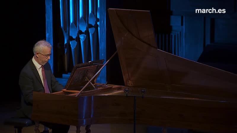 D. Scarlatti, A. Cabezón, C. Seixas, J. B. Cabanilles - La tecla ibérica - Pierre Hantaï, harpsichord 14.11.2018