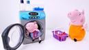 Vídeos de Peppa Pig. Arreglamos con Mamá. Juguetes peluches.