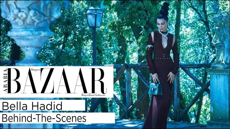Bella Hadid: Behind-The-Scenes On Harper's Bazaar Arabia's October 2018 Cover Shoot