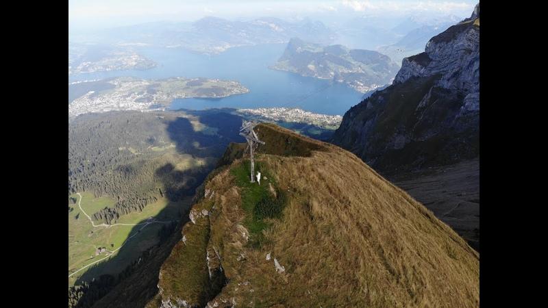 Швейцария с объектива дрона. DJI Mavic Air.