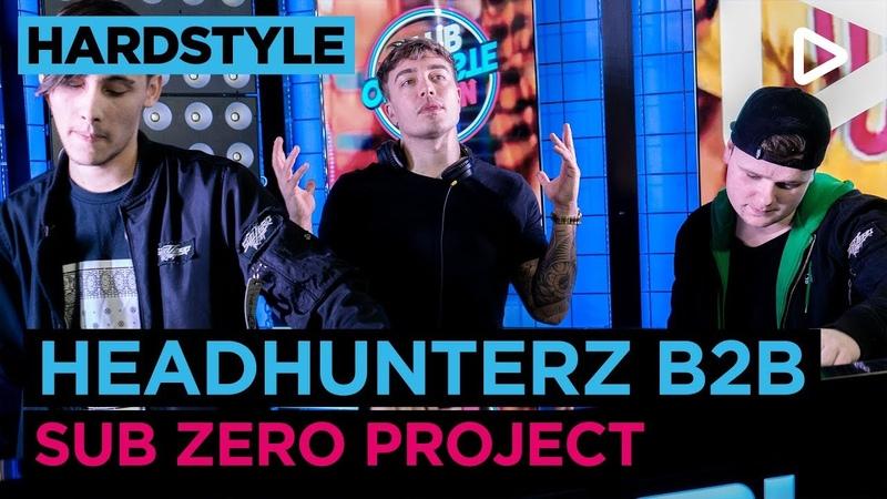 Headhunterz B2B Sub Zero Project (DJ-set) | SLAM!